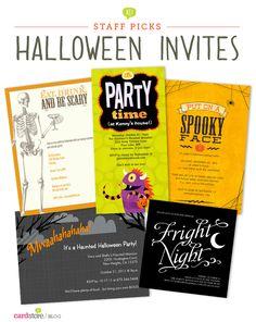 Halloween Party Invitations | Cardstore Blog Staff Picks