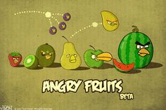 Angry Fruits (bis) #AngryBirds