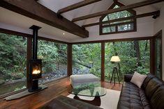 Creekside Cabin, Santa Rosa, California [950x634] - Imgur