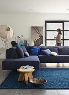 Woontrend True Blue | Montis | Eijerkamp #inspiratie #woontrends #interieur #blauw