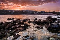 Sunset Over Freshwater Beach by Tim Matthews on 500px