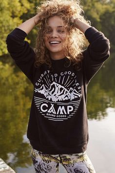 Camp Brand Goods Good Times Sweatshirt - Urban Outfitters