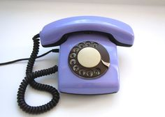 Vintage Russian dial rotary telephone Spektr3 by USSRvintage, $49.00