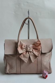 MULBERRY Ruby Bayswater In Pale Pink Soft Lambs Leather Bag. Very Well Used   bc3682bb83991