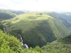 Pungwe Falls in Nyanga National Park, Zimbabwe
