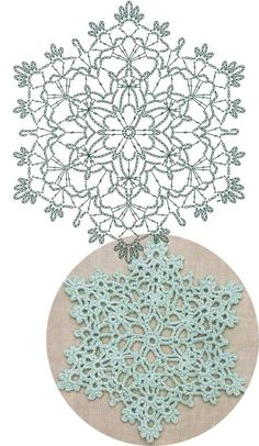 Best 12 Offset-snowflake Lace Crochet Motifs / 눈송이 모티브도안 – Page 838021443135968910 – SkillOfKing. Crochet Snowflake Pattern, Crochet Motif Patterns, Crochet Stars, Crochet Circles, Crochet Snowflakes, Crochet Mandala, Crochet Diagram, Thread Crochet, Crochet Doilies
