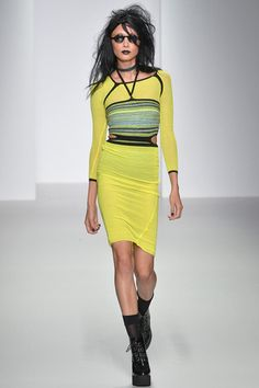 Mark Fast Spring 2014 Ready-to-Wear Collection Slideshow on Style.com