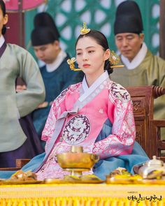 100 Days My (Hangul: 백일의 낭군님; Hundred Day's Husband) is a 2018 South Korean television series Korean Hanbok, Korean Dress, Korean Outfits, Korean Traditional Dress, Traditional Fashion, Traditional Dresses, Kpop Fashion, Korean Fashion, Hanbok Wedding