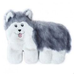 ZippyPaws Squeakie Pup No Stuffing Plush Dog Toy, Husky: Squeaky Pups are a line of toys that are inspired by your dogs. These playful pups come with 10 large squeakers and 1 Blaster squeaker. Fun for dogs of all sizes. Contains no stuffing. Cat S, Interactive Dog Toys, Snow Dogs, Pet Paws, Majestic Animals, Toy Puppies, Training Your Dog, Training Tips, Dog Behavior