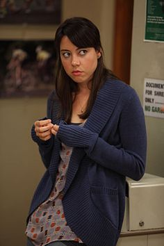 April Ludgate and her awesome outfits