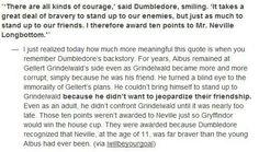 neville was braver than dumbledore.