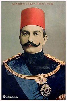 H.M. Khedive Abbas Hilmi II.