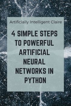 READY TO GET STARTED WITH POWERFUL DEEP LEARNING? Artificial Neural Networks have been a critical driving force that led the way for deep learning implementation. But, what is an artificial neural network? And how can you start implementing them yourself using python? Fear not, click and all will become clear!  #deeplearning #artificialintelligence #technology