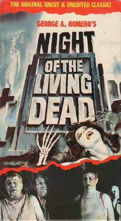 Night Of The Living Dead (1968) by darklorddisco, via Flickr I really enjoy these modern twists on classic posters, it helps to link back to where all of the special effects started