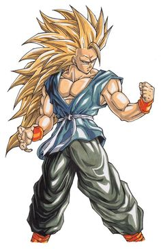 Super Saiyan 3 GT Goku