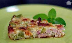 PANELATERAPIA - Blog de Culinária, Gastronomia e Receitas: Torta de Abobrinha com Bacon