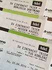 #Ticket  2 Tickets SVE Eintracht Trier  BVB Borussia Dortmund 22.09.2016 Block D #deutschland
