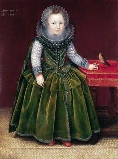 Gheeraerts Boy Aged 2 1608 - Marcus Gheeraerts the Younger - Wikipedia, the free encyclopedia