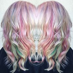Opal hair using joico color intensity