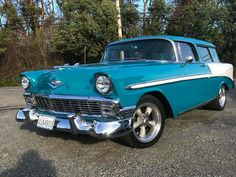 Chevy Nomad, Cool Old Cars, Chevrolet Bel Air, Unique Cars, Old Trucks, Car Photos, Hot Cars, Custom Cars, Motor Car