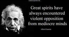 Einstein on opposition