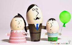 tutorial como hacer huevo de pascua how to do easter egg DIY manualidades