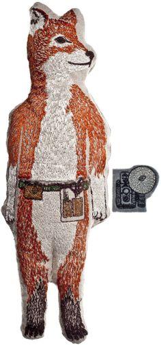 Coral and Tusk - fox pocket doll
