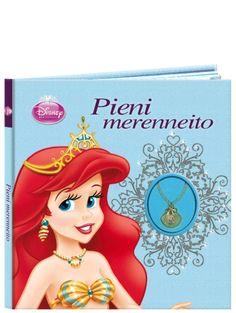 Prinsessat: Pieni merenneito -korukirjan klassikkotarina ihastuttaa kauniissa pehmeäkantisessa satukirjassa, jossa on mukana simpukkakaulakoru pienelle lukijalle!
