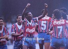 Comemoração do golaço de Zé Carlos, o 2º do triunfo de 2x0 contra o São Paulo no Morumbi na campanha do Bicampeonato Brasileiro de 88