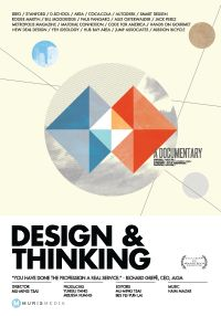 Poster for a film about design thinking