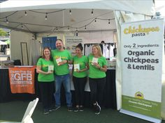 The #Chickapea gang at Veg-Fest Toronto 2017
