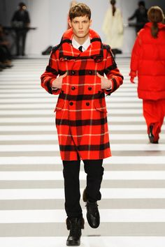 Men coat / Ready to wear AW11 / Jean Charles de Castelbajac