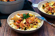 One pot pasta d'automne: butternut, champignons, bacon et parmesan Amandine Co. Keto Shepherd's Pie, One Pot Pasta, Fish Recipes, Pasta Salad, Potato Salad, Gluten, Diet, Chicken, Cooking