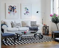 Stylish apartment renovation in Sweden Scandinavian Apartment, Scandinavian Interior, Apartment Renovation, Traditional Decor, All Wall, Two Bedroom, Love Seat, Area Rugs, Houses