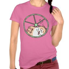 Sleeping Hamster in Exercise Wheel Tee Shirt http://www.zazzle.com/sleeping_hamster_in_exercise_wheel_tee_shirt-235729243008975644?rf=238205274887202706