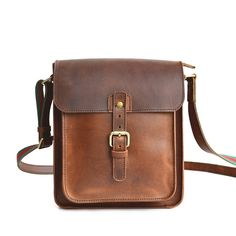 The Vertical Crossbody Satchel has a myriad of uses. It makes a great cross body purse for ladies. It's also an excellent EDC bag for men. And, it's a great gen