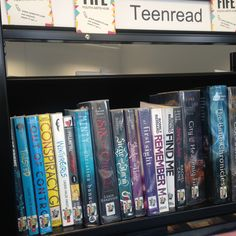Thank goodness for libraries! Here's Minty in my local one. Looking right at home!