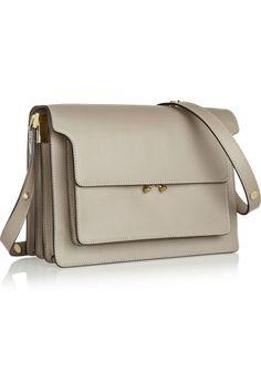 Beautiful structured grey shoulder bag