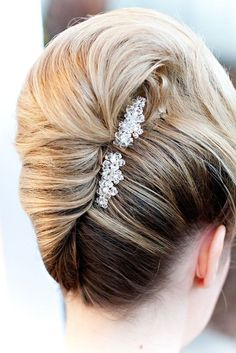 awesome Coiffure mariage : Bridal Combs...