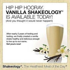Also in chocolate and green berry. The healthiest meal of the day!! www.beachbodycoach.com/delaris1102
