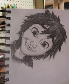 Hiro Happy! by Maggie Rice. Another entry in my Hiro sketch page. :)
