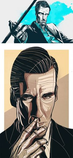 Illustrations by César Moreno | Inspiration Grid | Design Inspiration