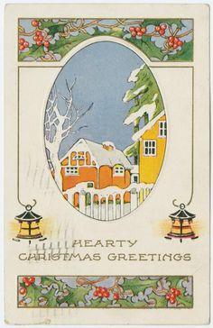 Hearty Christmas Greetings. (ca. 1924)