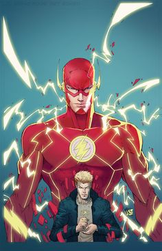 i-am-the-speed-force: The Flash by Vmarion07