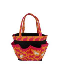 4ae57e9956b3 Items similar to Elephant Bingo Bag    Craft Organizer    Makeup Organizer     Caddy    Teacher Tote    Nurse Tote   Elephant on Etsy