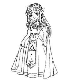 106 Best Lineart Zelda Link Images On Pinterest Coloring Pages