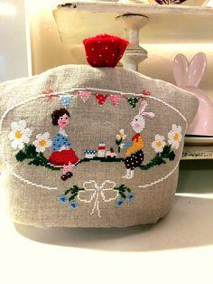 Tè per due Lilli Violette cross stitch charts