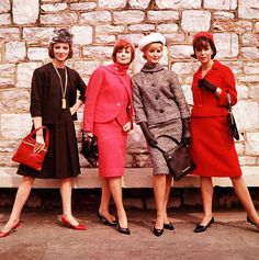 Chic separates and hats always impressed... | 24 Fashion Photos That Will Make You Wish It Were The '60s