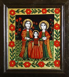 Christian Paintings, The Birth Of Christ, Holy Family, Sacred Art, Coloring Pages, Catholic, Folk, My Arts, Traditional