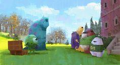 Pixar Concept Art, Disney Concept Art, Disney Art, Cartoon Background, Animation Background, Matte Painting, Storyboard, Comic Tutorial, Color Script